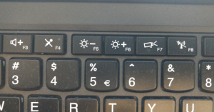 Fn-hotkeys controlling screen brightness on a Lenovo Thinkapd X260